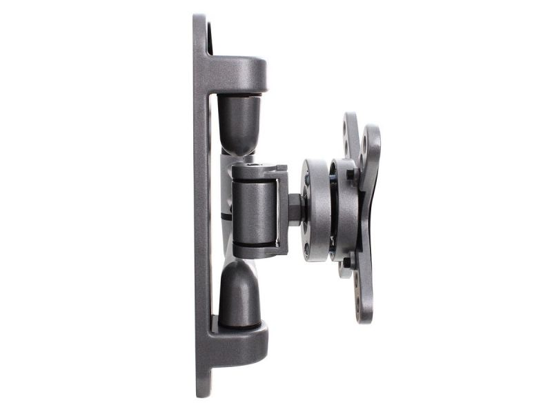 Monoprice Ez Series Full Motion Articulating Tv Wall Mount Bracket For Tvs 13in To 27in, Max Weight 44 Lbs., Extension Range Of 4.1in To 16.7in, Vesa Patterns Up To 100x100, Rotating , Ul Certified
