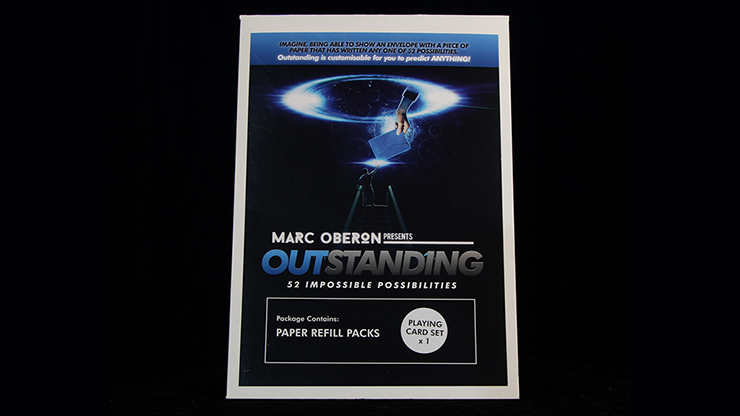 Outstanding Refill Cards By Marc Oberon - Trick