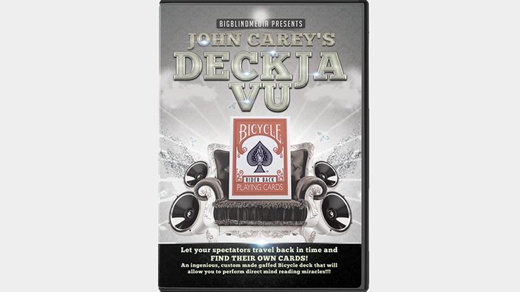 Big Blind Media Presents Deck Ja Vu Blue (Gimmicks And Online Instructions) By John Carey - Trick