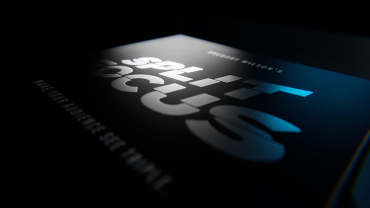 Split Focus Morgan Replica (Gimmicks And Online Instructions) By Greg Wilson - Trick