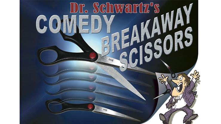 Comedy Breakaway Scissors By Martin Schwartz - Trick
