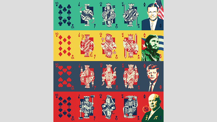Cuban Missile Crisis Playing Cards