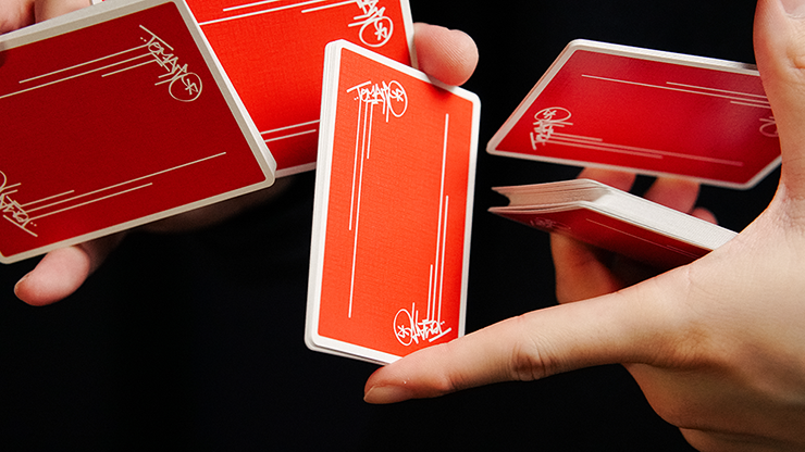 Tomato At The Edge Playing Cards