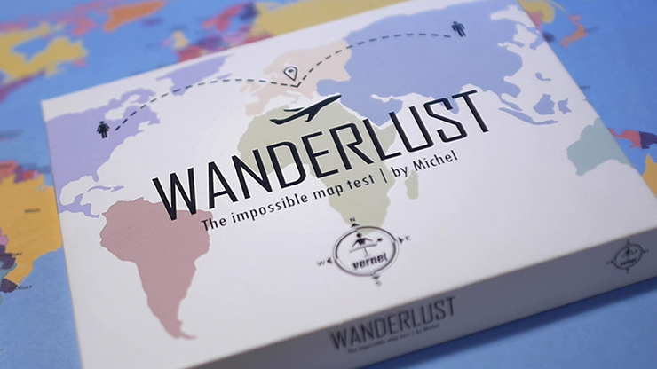 Wanderlust (gimmicks And Online Instructions) By Vernet Magic - Trick