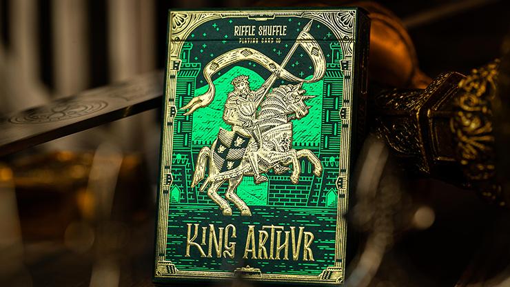King Arthur (emerald Saga) Playing Cards By Riffle Shuffle