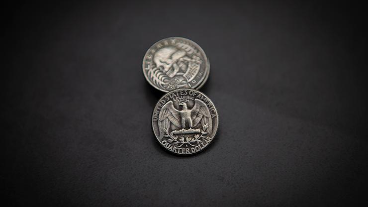 Washington Skull Head Coin By Men Zi Magic