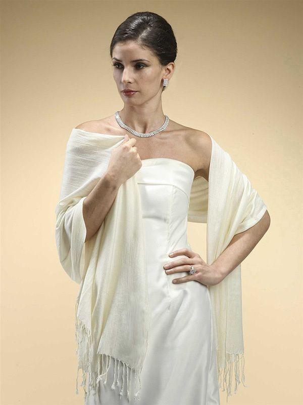 Pashmina Style Evening Wrap Or Shawl