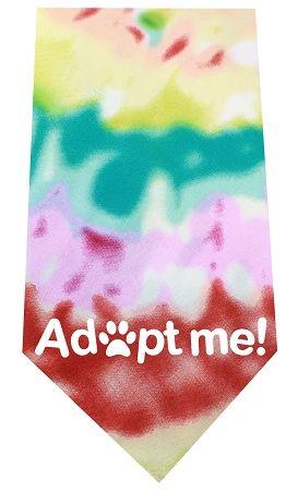 Adopt Me Screen Print Bandana Tie Dye