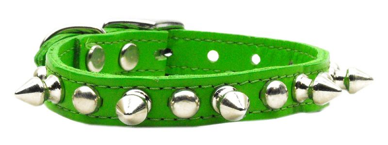 Chaser Leather Dog Collar Emerald Green 16