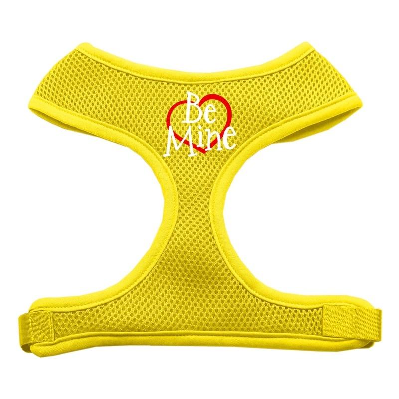 Be Mine Soft Mesh Pet Harness Yellow Small