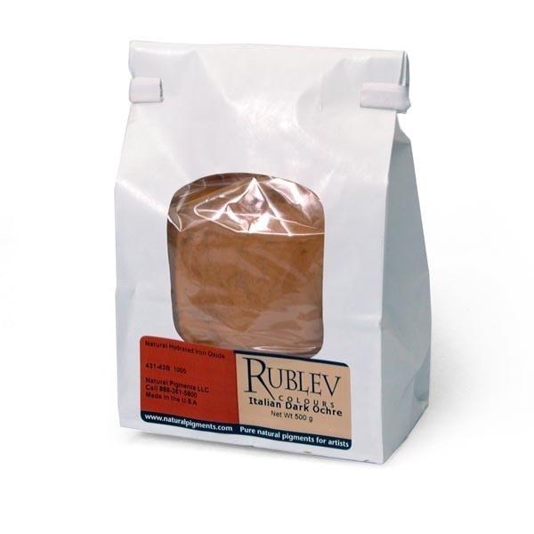Rublev Colours Italian Dark Ocher Oil Pigment