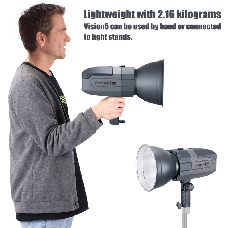 Neewer Vision5 400w Ttl For Canon Hss Outdoor Studio Flash Strobe With Battery