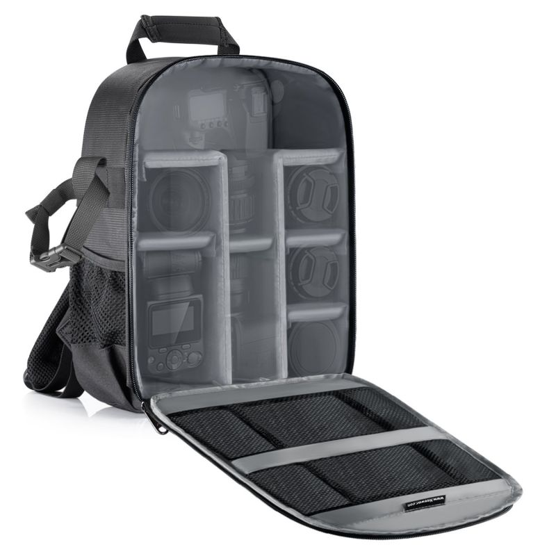 Neewer Camera Case Water-Resistant Shockproof 11.8X5.5X14.6 Inches/30X14x37 Cm Backpack
