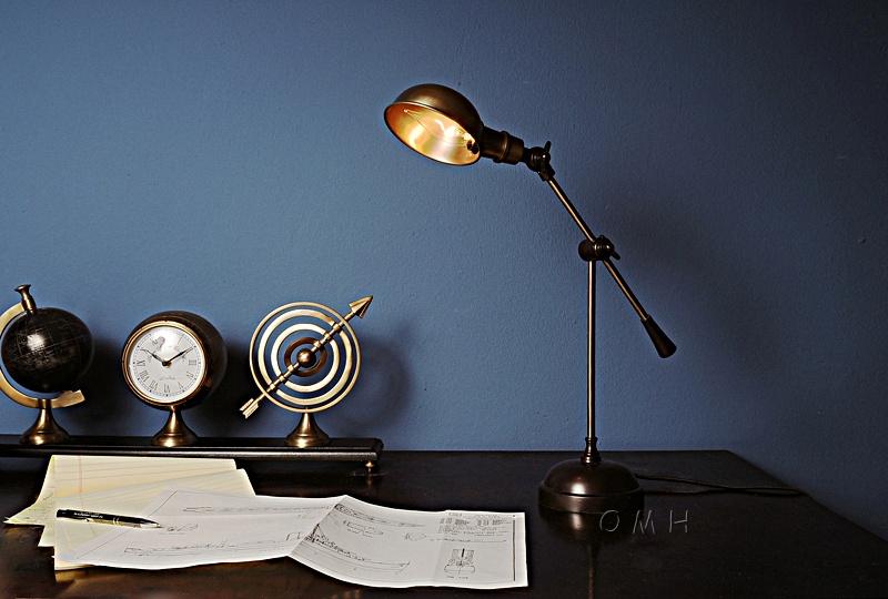 Lamp Brass Finish