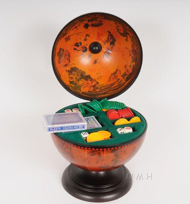 Globe Poker Set