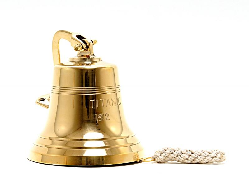 Titanic Ship Bell - 6 Inche