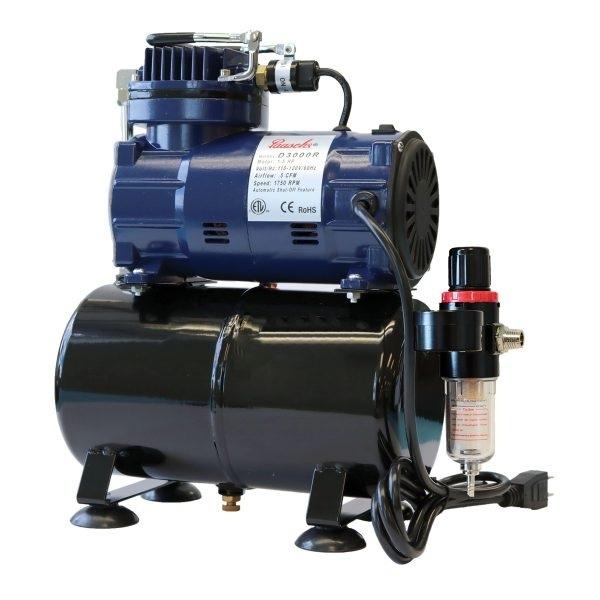 Paasche D3000R 1/5 HP Air Compressor
