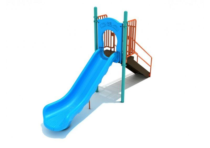 4 Foot Single Straight Slide