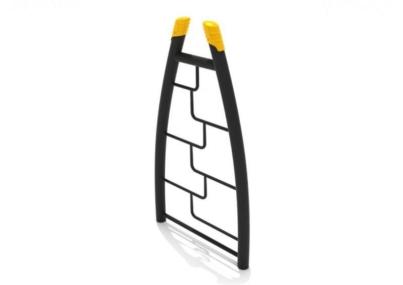 Curved Post Maze Rung Vertical Ladder