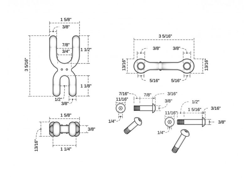 Double Clevis Connector