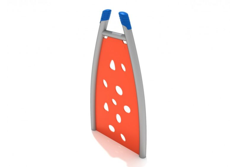 Curved Post Pe Climbing Wall