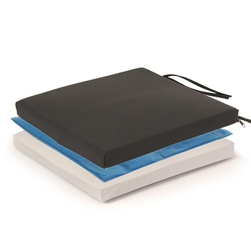 """Gel Cushion w/CPU & Vinyl Cover (E2601):20""""x16""""x2"""""""