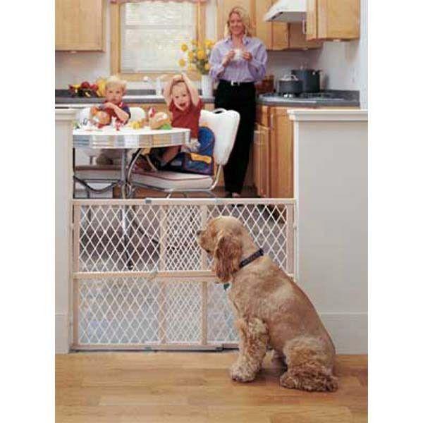 Easy Adjust - Diamond Mesh Pet Gate