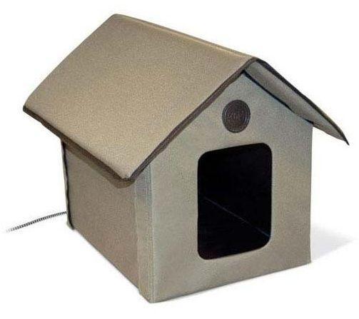 Outdoor Heated Kitty House