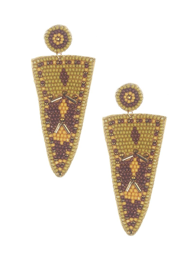 Post Pin Made In India Bead Aztech