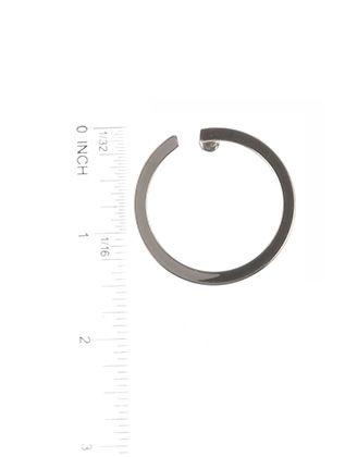 Open Ring Metal Post Pin