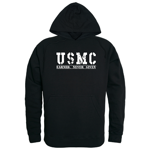 Graphic Pullover, Earned 2, Blk, Xl