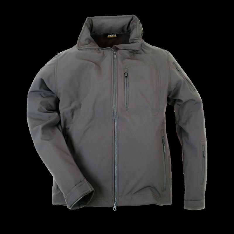 Softshell Tactical Jacket, Grey, l
