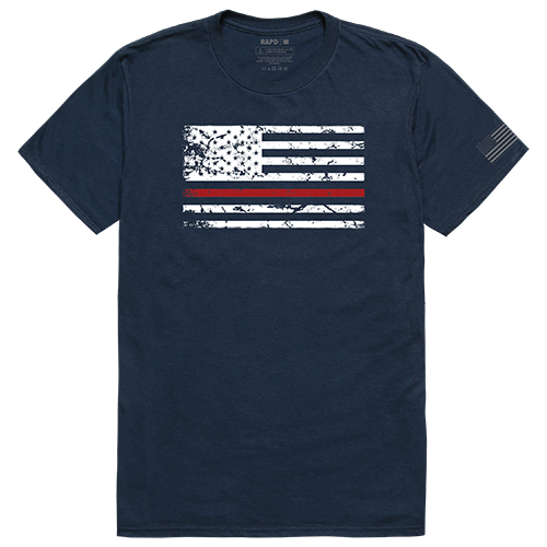 Tacticalgraphic T, Thin Red Line, Nvy, l