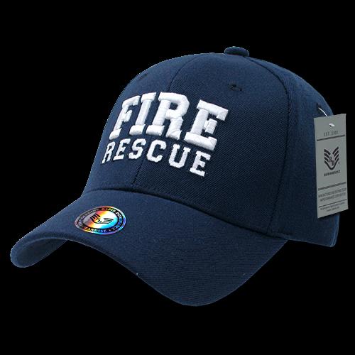 Fitall Flex Caps, Fire Rescue,Navy, l_Xl