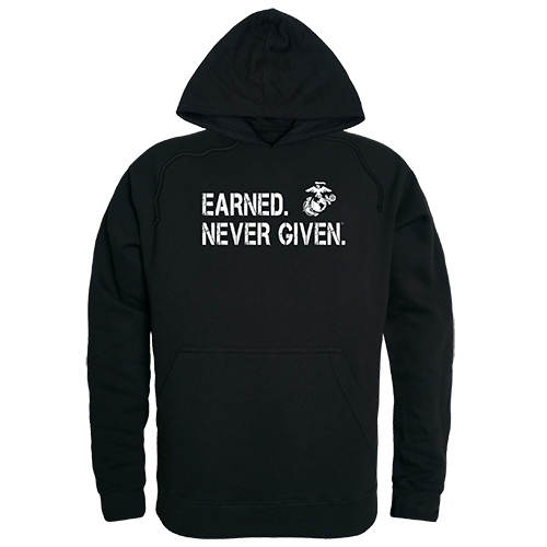 Graphic Pullover, Earned 1, Blk, 2x