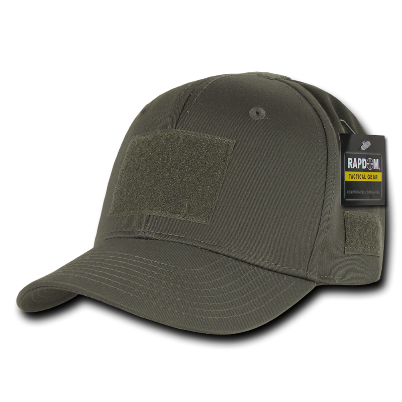 Tactical Structured Operator Cap,Olive