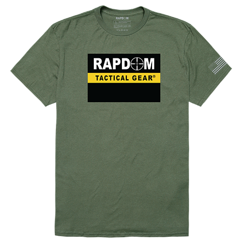 Tactical Graphic T, Rapdom, Olv, 2x