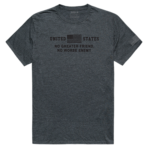 Tactical Graphic T, No Greater, Hch, s