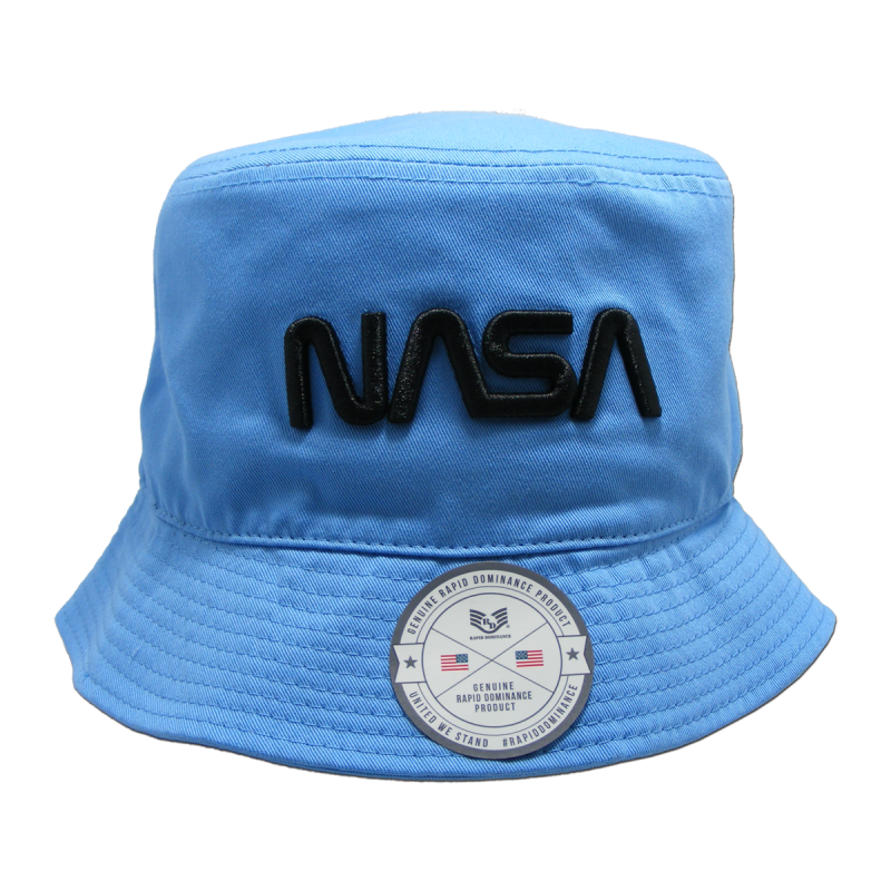 Nasa Relaxed Bucket Hat, Worm, Sky, l_Xl