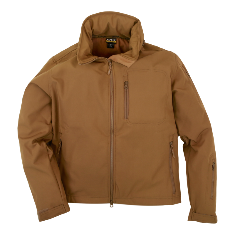 Softshell Tactical Jacket, Coyote, s