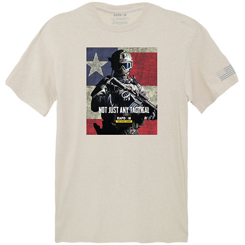 Tactical Graphic T,Not Just Any, Snd, 2x