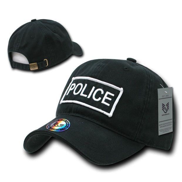 Raid Caps, Police, Blk