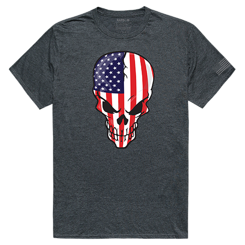Tactical Graphic T, Skull Flag, Hch, 2x