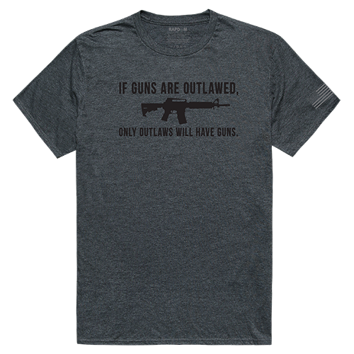 Tactical Graphic T, Outlawed, H.Char, 2x