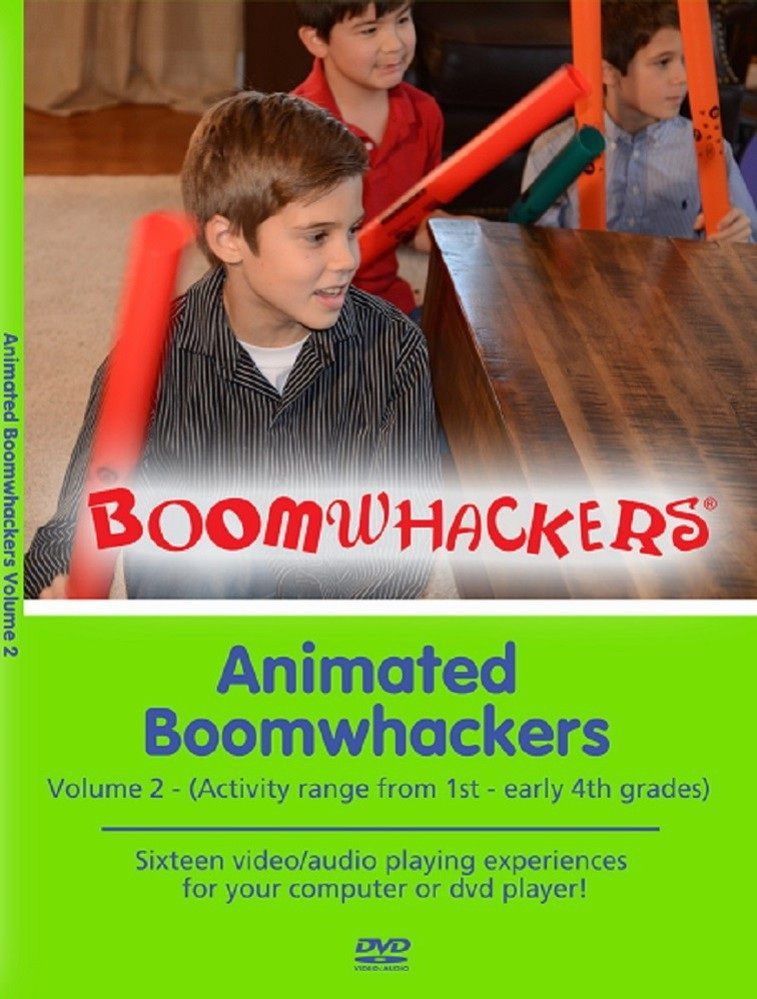 Animated Boomwhackers Vol 2
