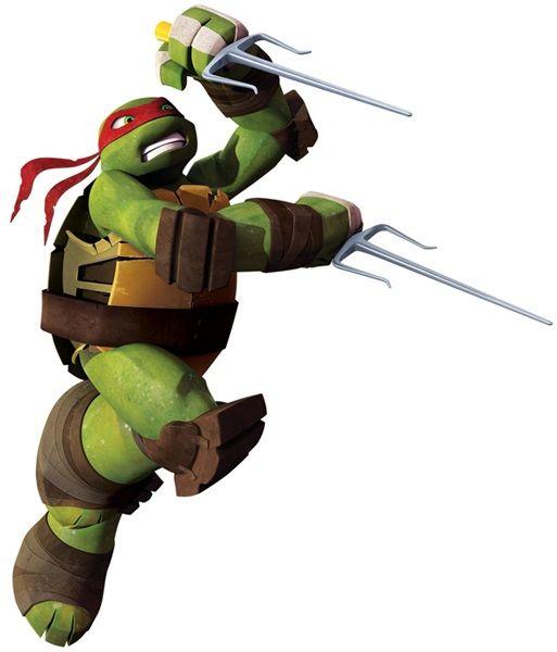 Teenage Mutant Ninja Turtles Raphael Giant Wall Decal