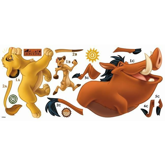 The Lion King Giant Wall Decals