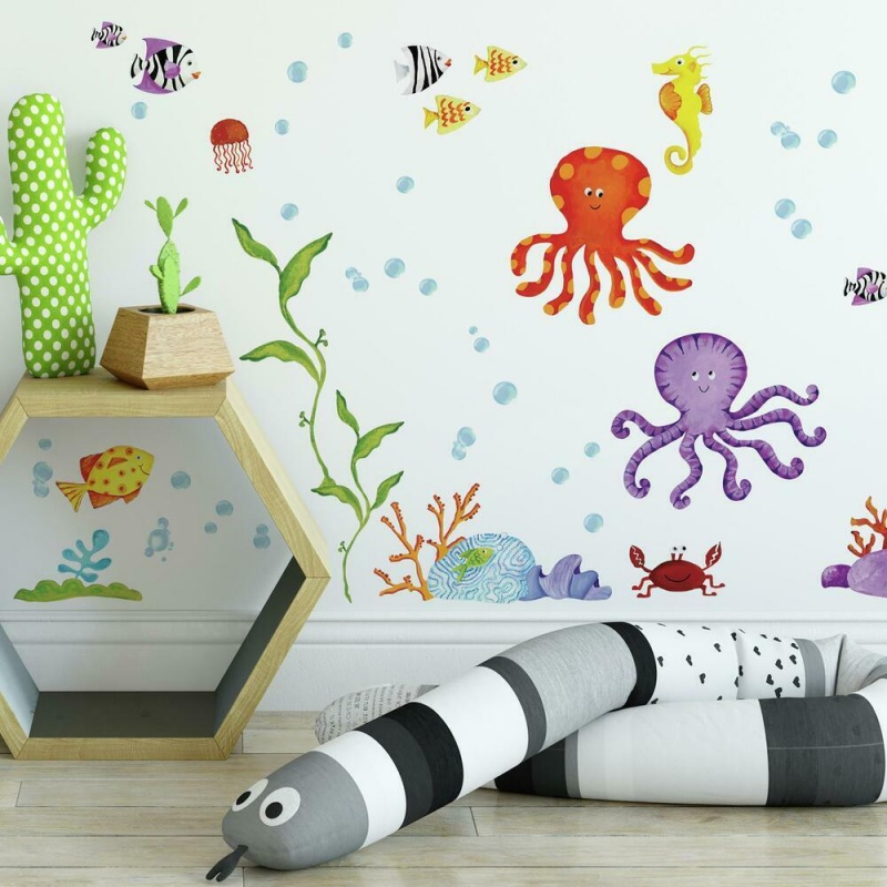 Adventures Under The Sea Wall Decal