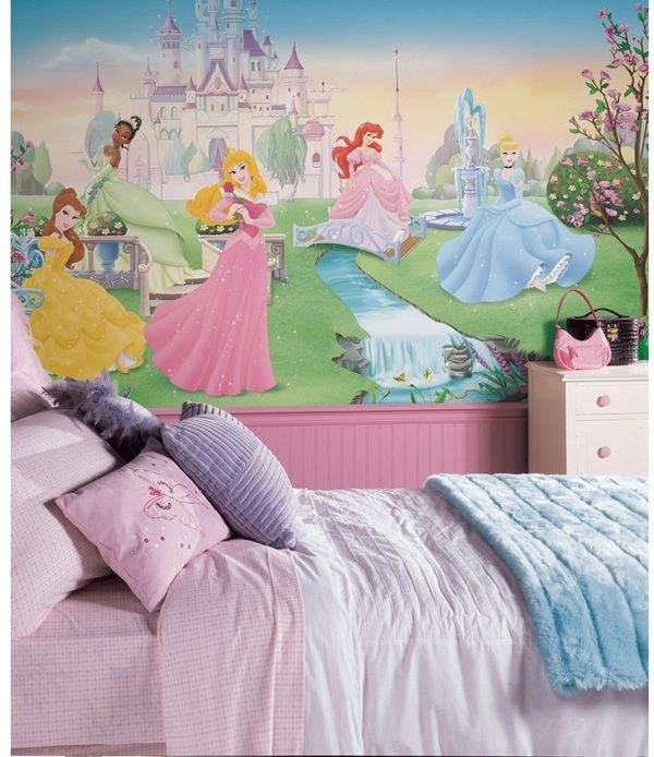 Disney Dancing Princess Xl Spray And Stick Wallpaper Mural