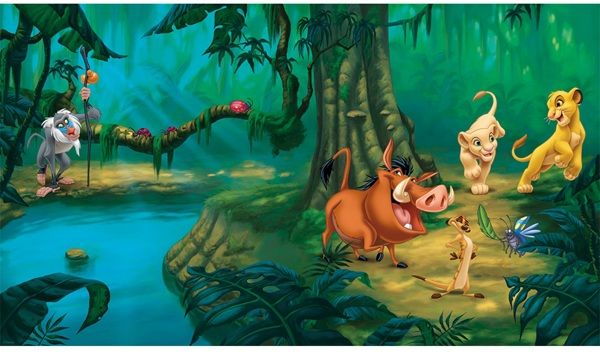 The Lion King Xl Spray And Stick Wallpaper Mural